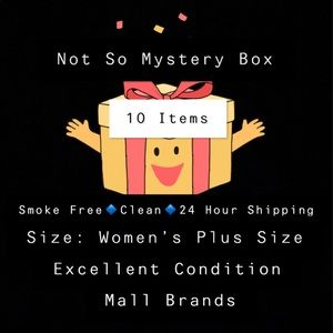 Other - Not So Mystery Box Women's Plus Size 10 Items